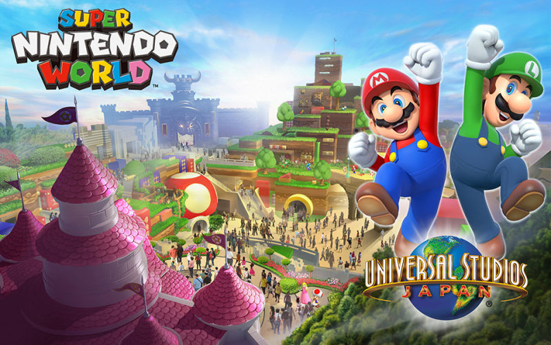 Super Nintendo World | Confira as primeiras imagens do parque temático da Nintendo