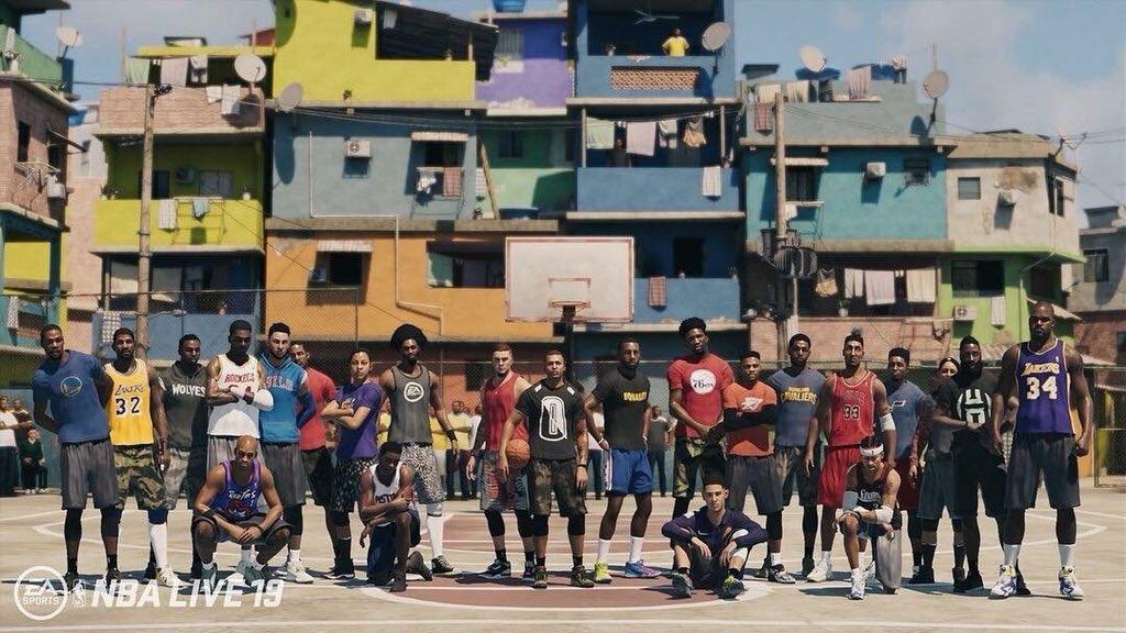 NBA Live 19   Jogo é anunciado e chega em setembro