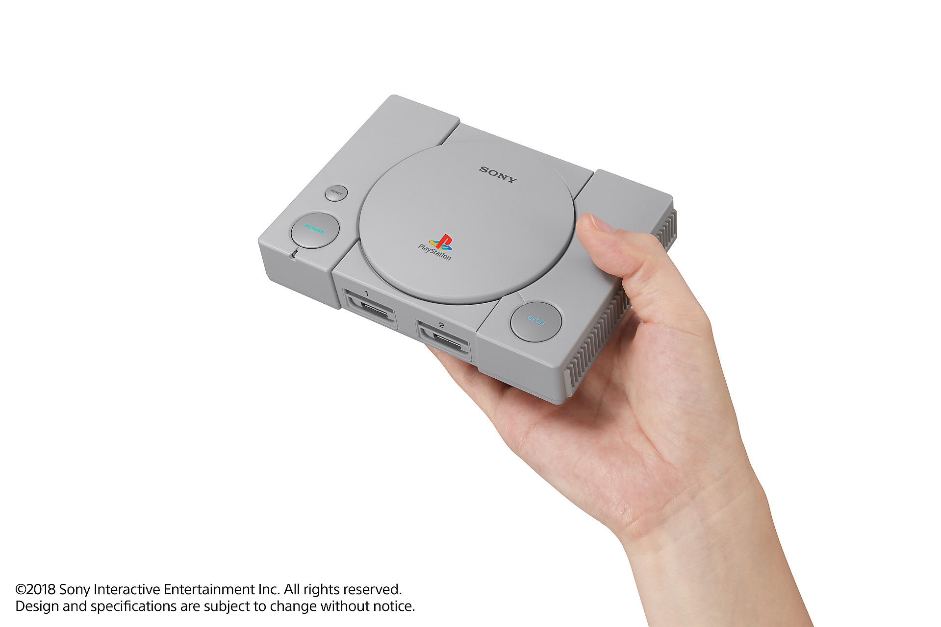 Playstation Classic   Sony anuncia versão miniatura do primeiro Playstation