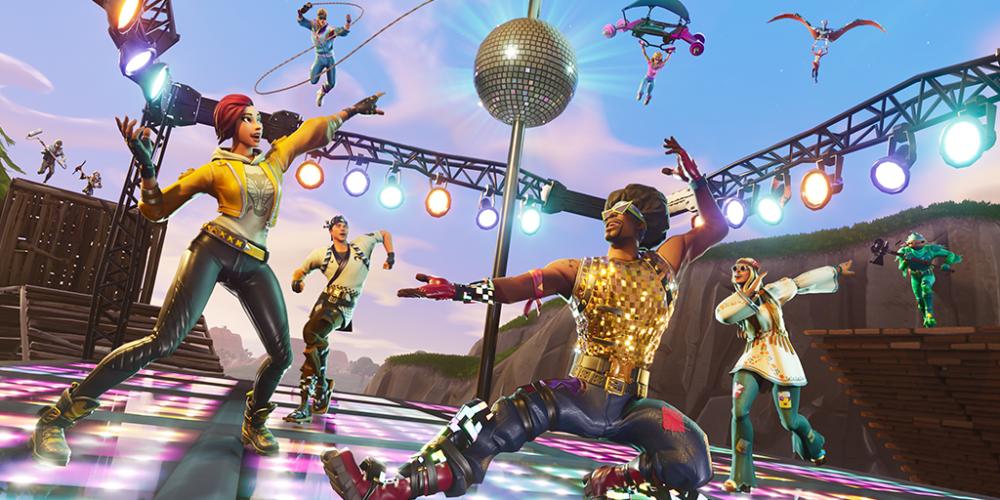 Fortnite | Jogadores precisam dançar no novo modo Disco Domination