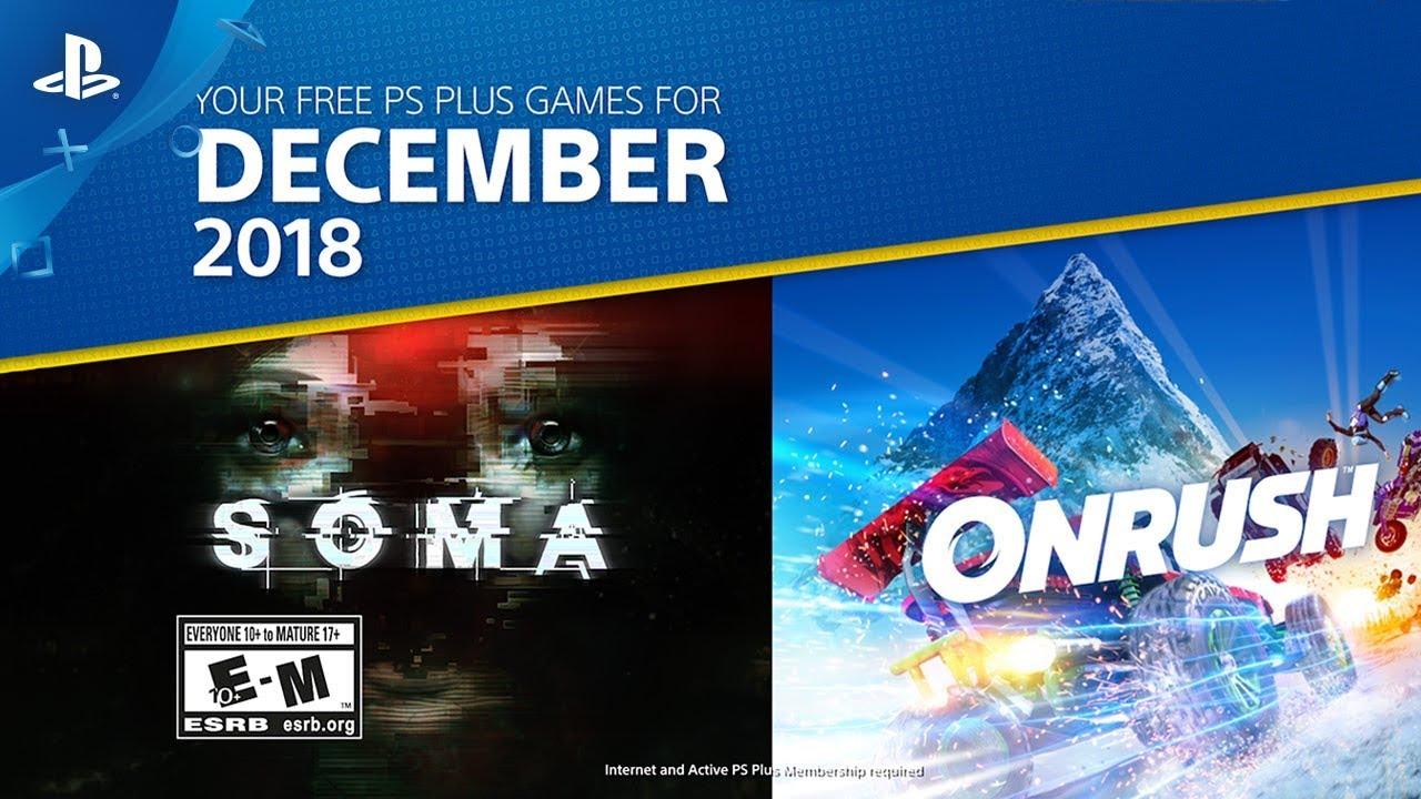Playstation Plus | SOMA e Onrush são os destaques do mês de dezembro na PS Plus