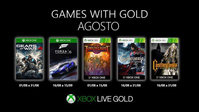 Xbox   Games with Gold terá Castlevania Symphony of the Night para jogadores brasileiros