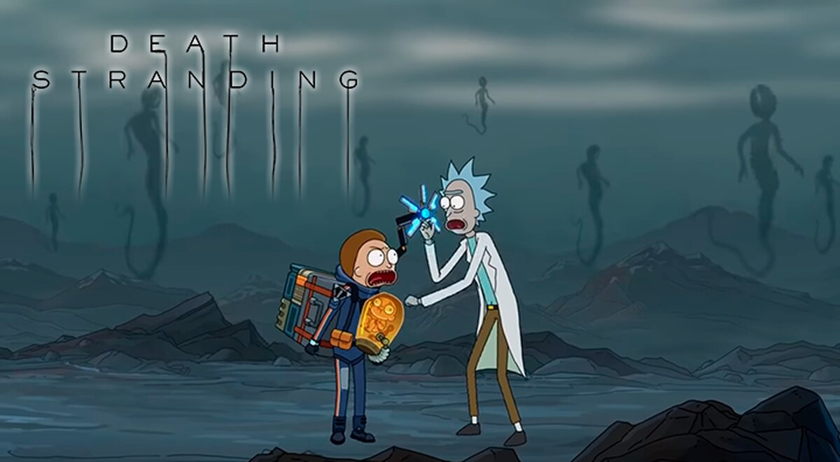 Death Stranding | Game ganha novo comercial estrelado por Rick and Morty