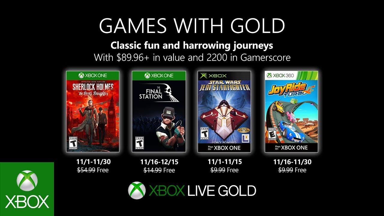 Xbox | Games with Gold de novembro terá Sherlock Holmes: The Devil's Daughter